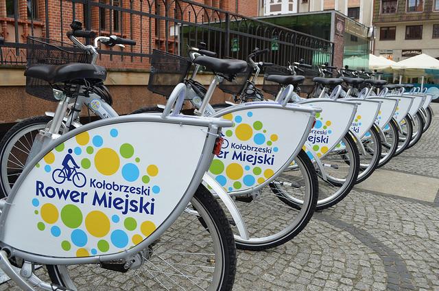 (Polski) Koniec sezonu rowerowego w Kołobrzegu